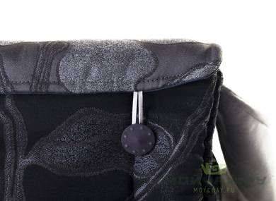 Textile bag for storage and transportation of teaware # 23450