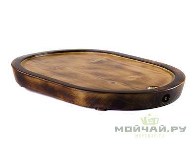 Handmade tea tray # 23619 wood Cedar