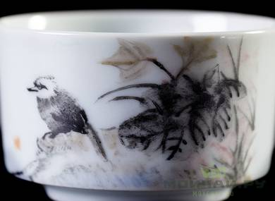 Cup # 23833 ceramic hand painting 80 ml