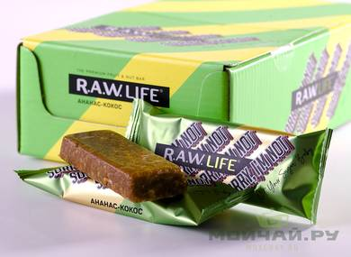 "RAW LIFE ""Sorry I'm not"" pineapple - coconut"