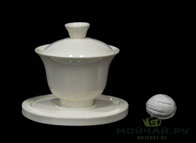 Gaiwan # 24067 porcelain 165 ml