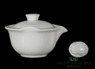 Gaiwan # 24065 porcelain 155 ml