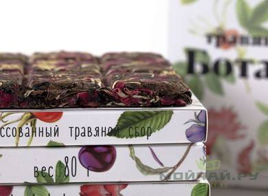 Herbal tea Cake «Botanica» 80 g