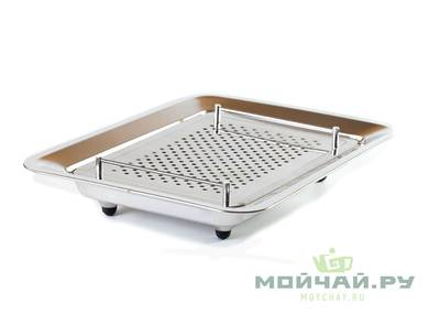 Metal tea board  stainless steel