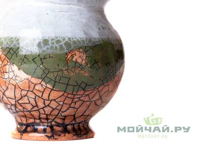 Vessel for mate kalabas # 24437 ceramic