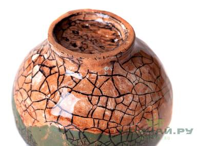 Vessel for mate kalabas # 24436 ceramic
