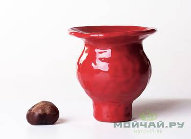 Vessel for mate kalabas # 24470 ceramic