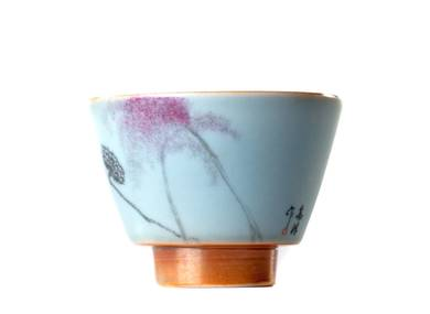 Cup # 24798 ceramic hand painting  firing 66 ml