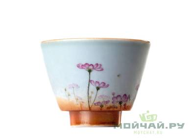 Cup # 24799 ceramic hand painting  firing 66 ml