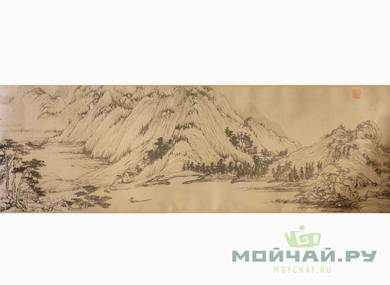 Cha Xi canvas for tea ceremony # 24764