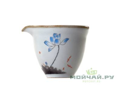 Teaset # 24758 porcelain 10 items: 150 ml gaiwan 6 cups - 50 ml 1 сup - 80 ml teamesh gundaobey 168 ml