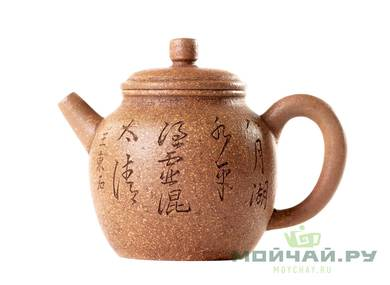 Teapot # 24874 yixing clay 220 ml