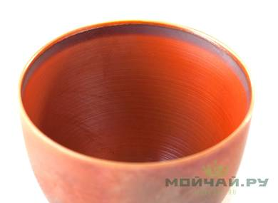 Cup # 24995 ceramic hand painting wood firing 75 ml