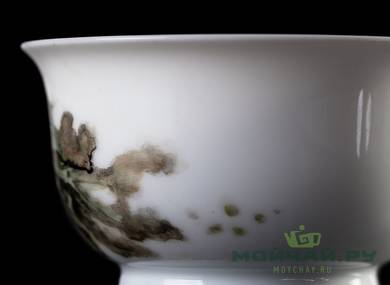 Cup # 25099 hand painting porcelain 100 ml