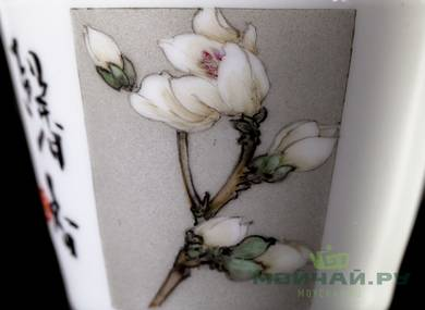 Cup # 25084 hand painting porcelain 100 ml