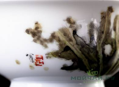 Cup # 25098 hand painting porcelain 100 ml
