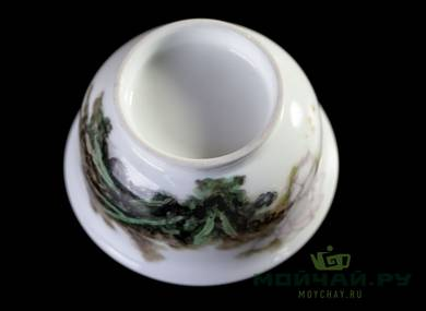 Cup # 25097 hand painting porcelain 100 ml