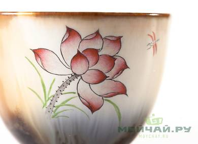 Cup # 25351 porcelain hand painting 75 ml