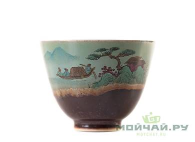 Cup # 25353 porcelain hand painting 62 ml