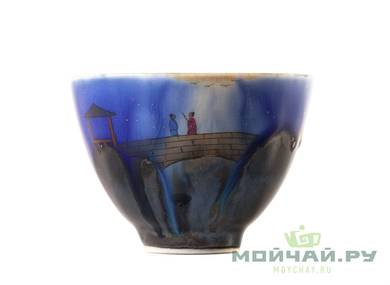 Cup # 25357 porcelain hand painting 70 ml