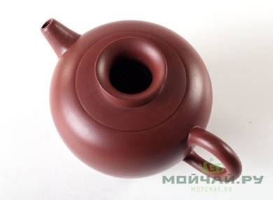Teapot # 25505 yixing clay  firing  firing 210 ml