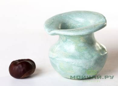 Vessel for mate kalabas # 25581 ceramic