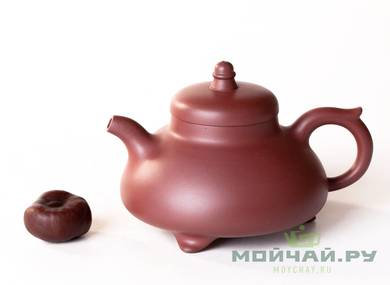 Teapot # 25490 yixing clay  firing  firing 255 ml