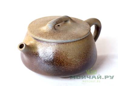 Teapot # 25118 wood firing 220 ml