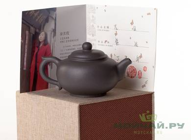 Teapot # 25687 yixing clay 220 ml