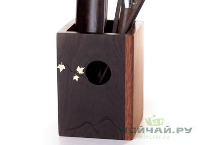 Set of accessories for a tea ceremony # 25907 wood