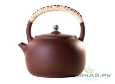 Teapot for boiling water # 26092 yixing clay 1100 ml