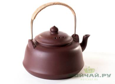 Teapot for boiling water # 26091 yixing clay 1100 ml