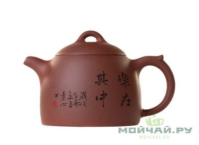 Teapot # 26445 yixing clay 325 ml