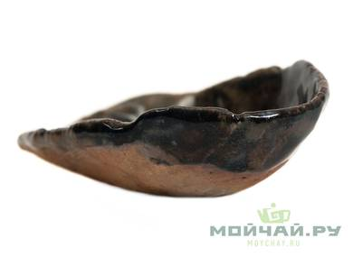 Tea presentation vessel # 26990 wood firingceramic