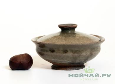 Gaiwan # 27230 wood firingceramic 100 ml