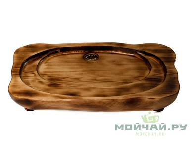 Handmade tea tray # 28509 wood Cedar