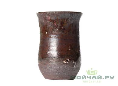 Cup # 28655 wood firingceramic 35 ml