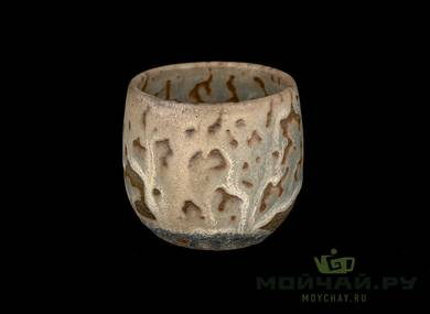 Cup # 28991 ceramic wood firing 90 ml