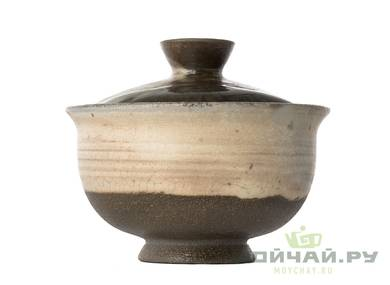 Gaiwan # 28936 ceramic wood firing 82 ml