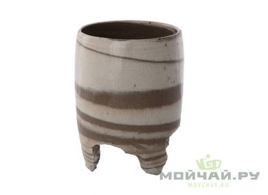 Cup # 28972 ceramic wood firing 65 ml