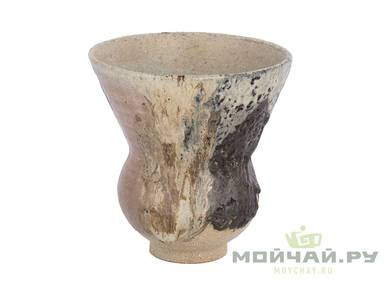 Vessel for mate kalabas # 29030 ceramic wood firing