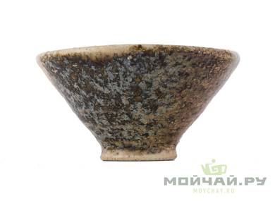 Cup # 29079 wood firing ceramic 80 ml