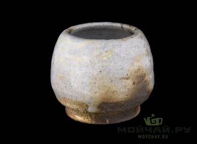 Vessel for mate kalabas # 29427 wood firingceramic