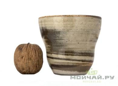 Cup # 29375 wood firingceramic 125 ml