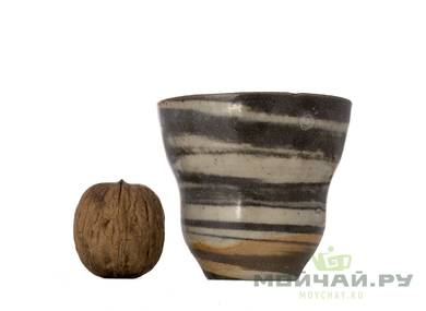 Cup # 29376 wood firingceramic 110 ml