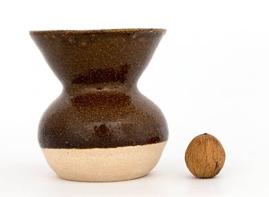 Vessel for mate kalabas # 30162 ceramic