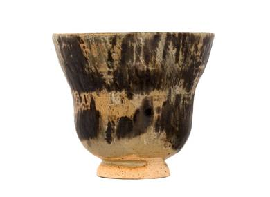 Cup # 31195 wood firingceramic 98 ml