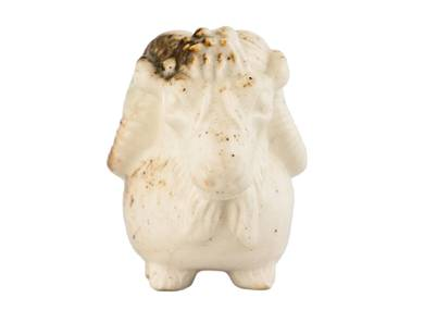 Teapet # 31256 wood firingporcelain