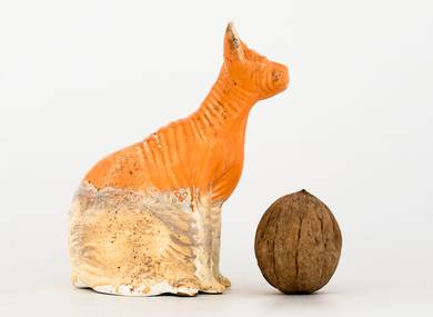 Teapet # 32096  wood firingporcelain