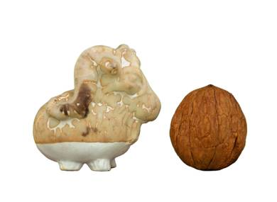 Teapet # 32157 wood firingporcelain